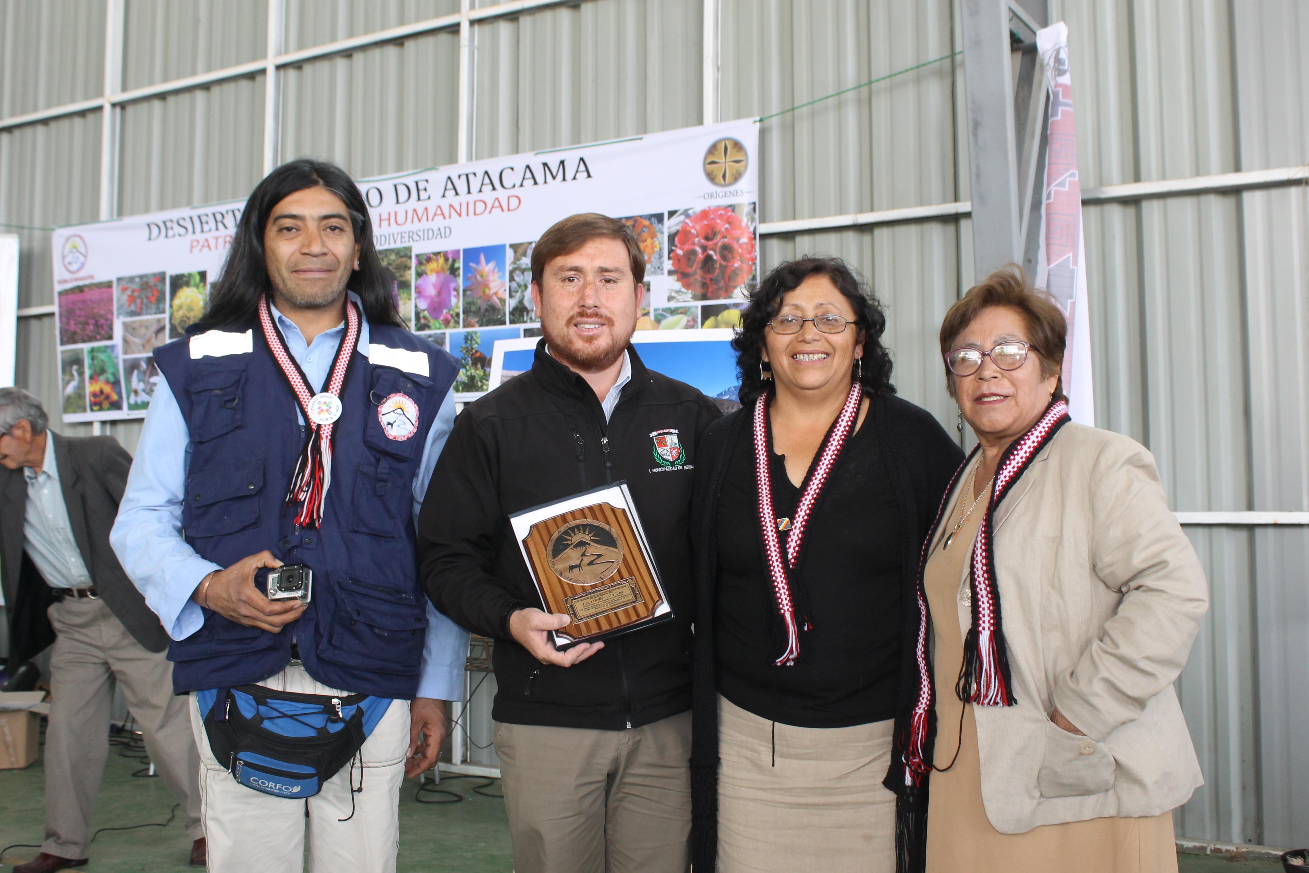 Alcalde de Freirina recibió reconocimiento de comunidades diaguitas del Huasco