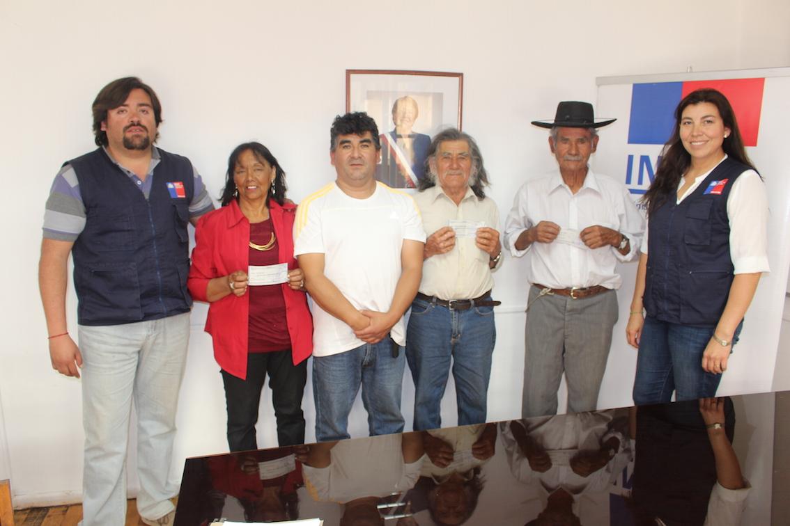 Crianceros de Chañar Blanco se adjudicaron proyectos para fortalecimiento productivo