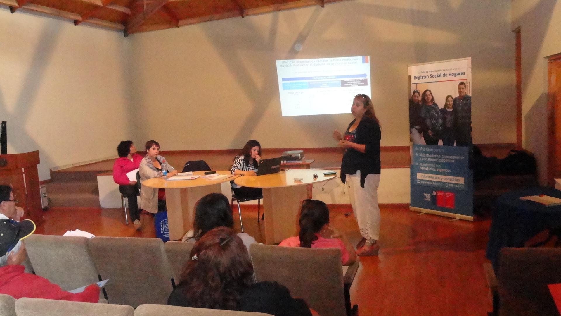 Cabildo Ciudadano informa del Registro Social de Hogares en Alto del Carmen