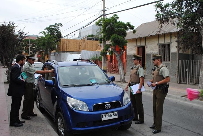 Impulsan medidas de prevención y autocuidado por las calles de Vallenar