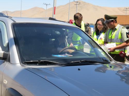 Gobierno lanzó en Atacama la campaña Desacelérate con miras al primer fin de semana largo de 2016