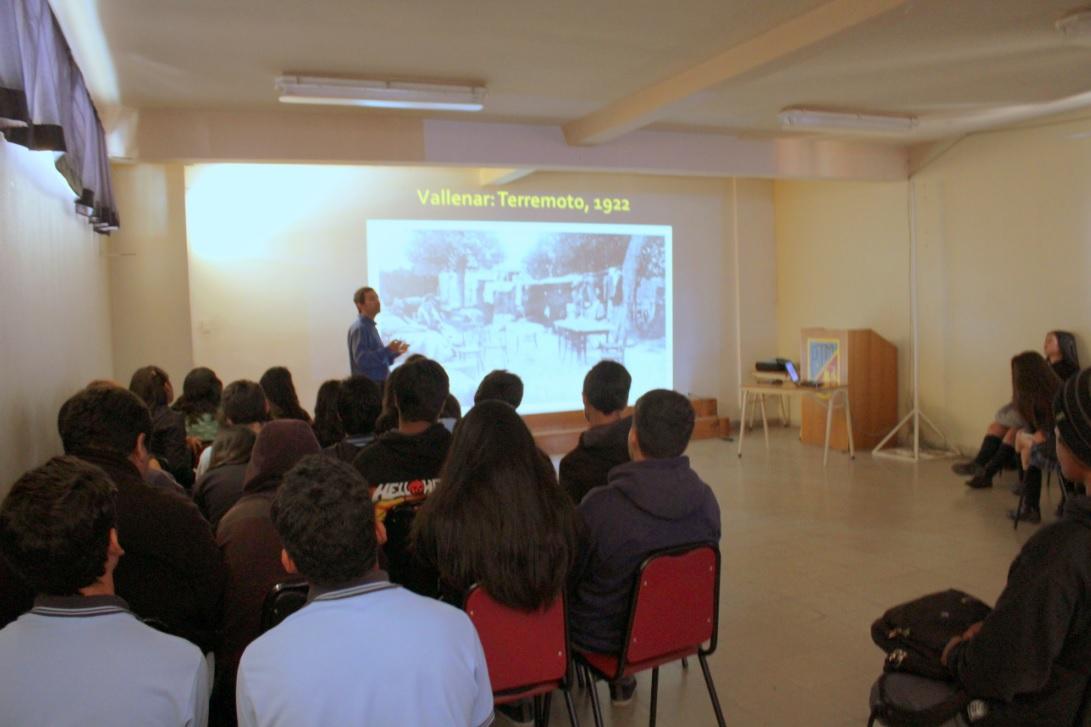 Más de 1200 estudiantes han participado de charlas sobre la Historia Local del Valle