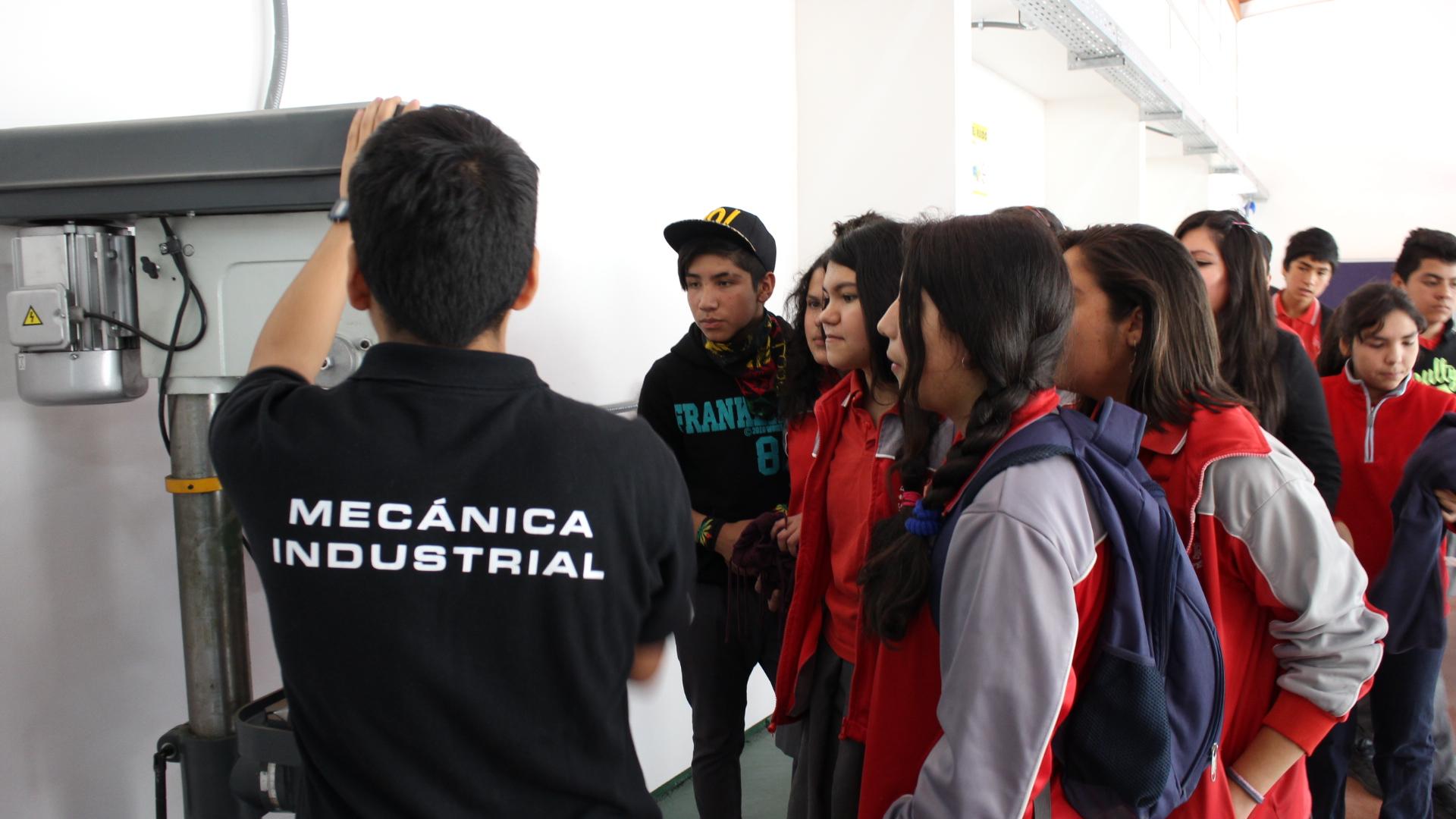 Liceo de Alto del Carmen finalizó campaña de promoción