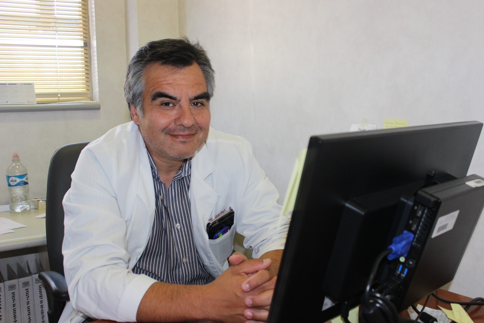 Médico del HPH es el segundo sub especialista de Nefrología en la región de  Atacama