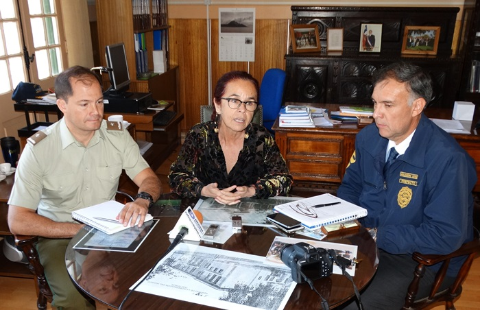 Coordinan plan de seguridad para la provincia de Huasco durante las fiestas de fin de año