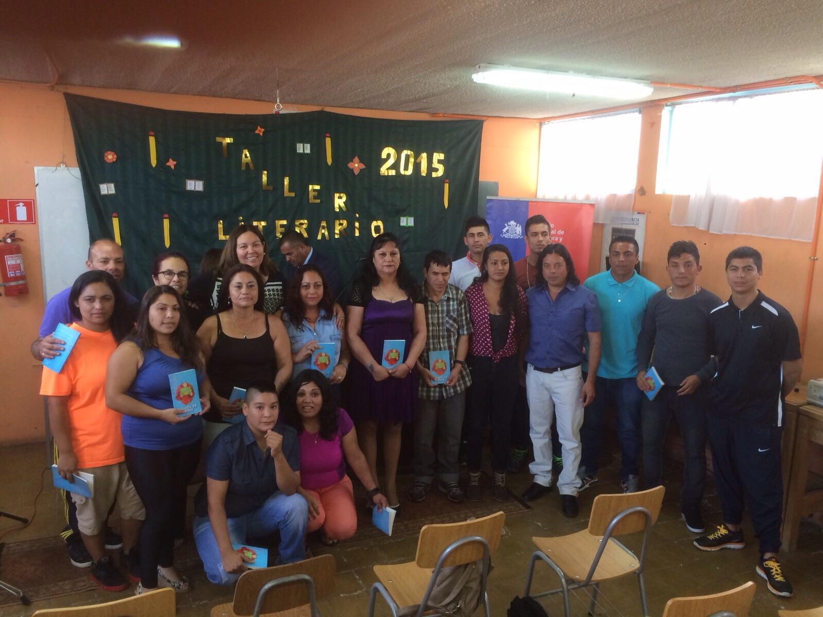 Directora de Cultura realiza cierre de Taller Literario en Vallenar