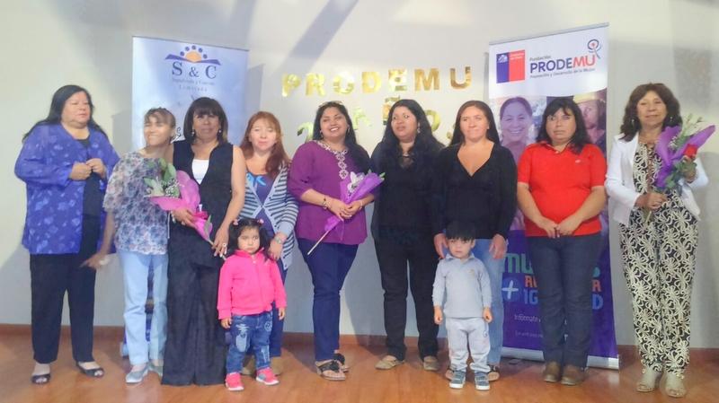 Mujeres de Alto del Carmen egresan de programas PRODEMU