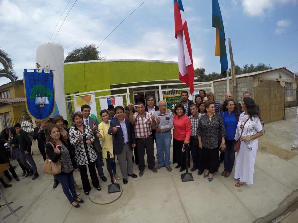 Inauguran sede social de club deportivo en Huasco Bajo