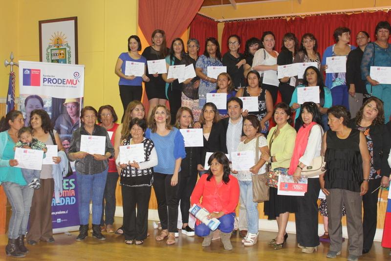 PRODEMU certificó a 230 mujeres en las provincias del Huasco y Chañaral