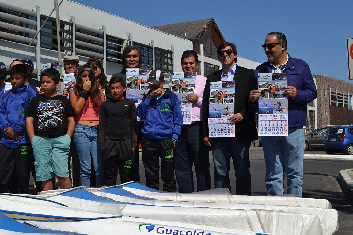 Guacolda realiza donación en equipamiento a  club deportivo changos de Huasco