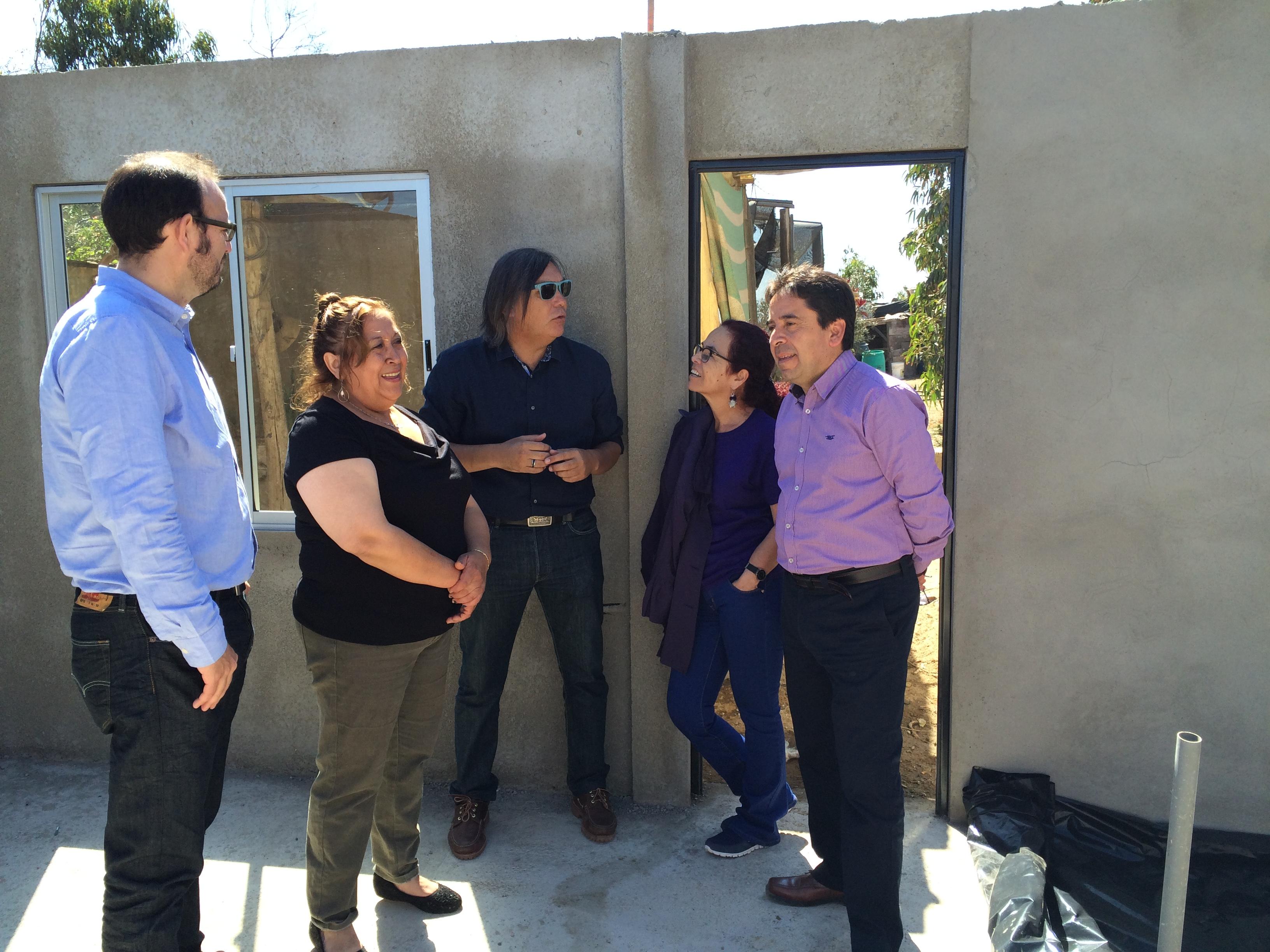 Fiscalizan avances en la construcción de viviendas a través de subsidios rurales en Huasco