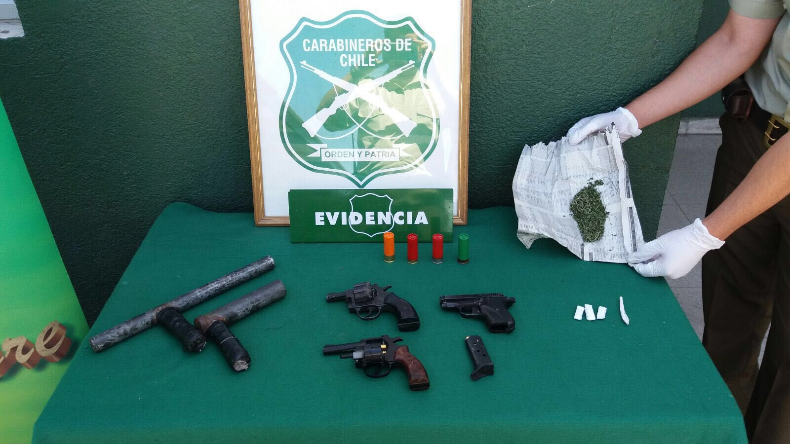 10 detenidos por porte ilegal de armas en Vallenar