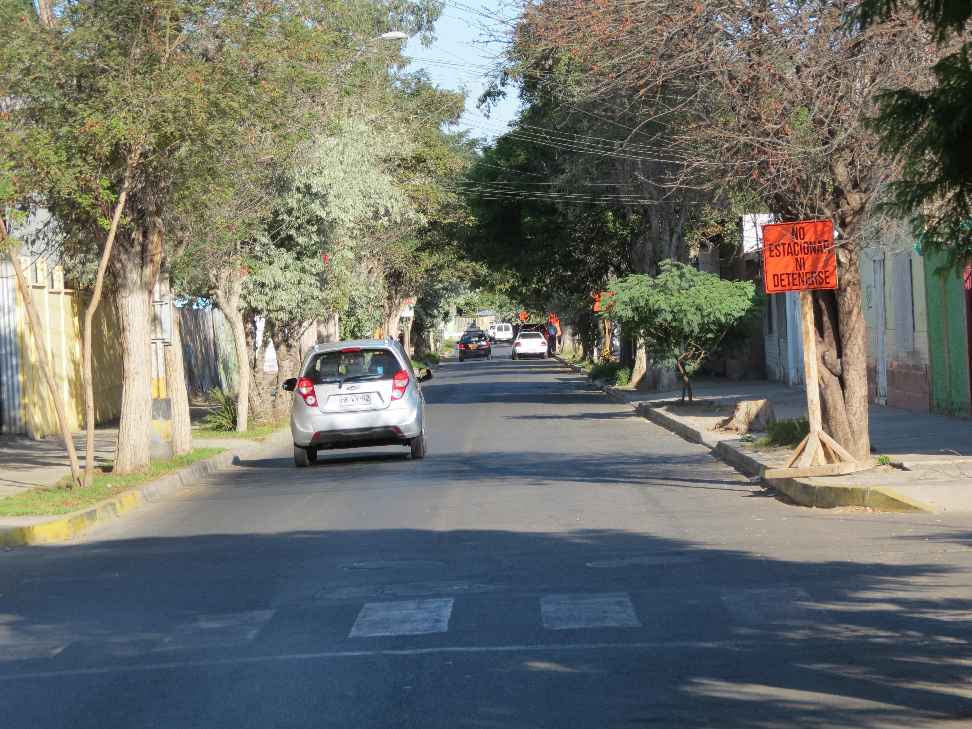 Centro de Vallenar intransitable: calle Marañón será de dos pistas