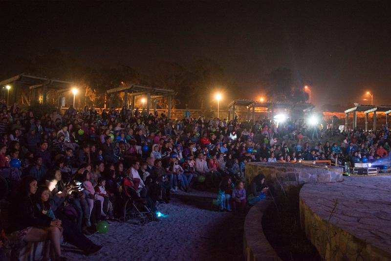 Exitoso debut del ciclo de cine de Guacolda En Parque Huasco