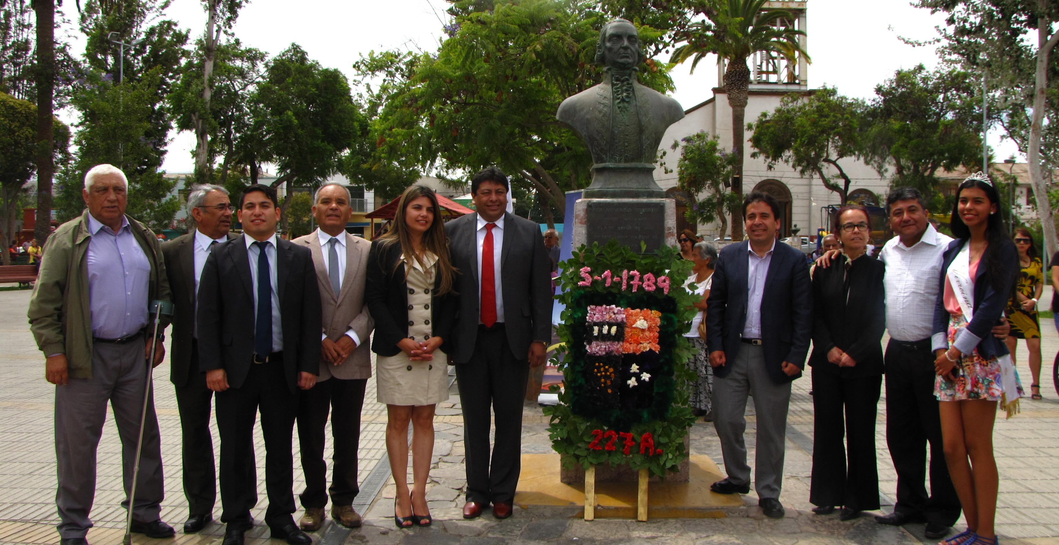 Vallenar celebró 227 años desde su fundación