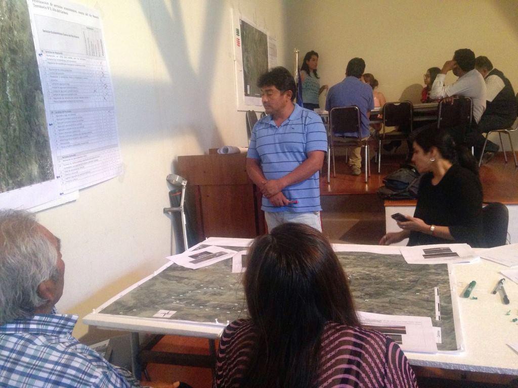 Realizan taller de identificación de Servicios Ecosistémicos Hídricos del Río Huasco en Alto del Carmen