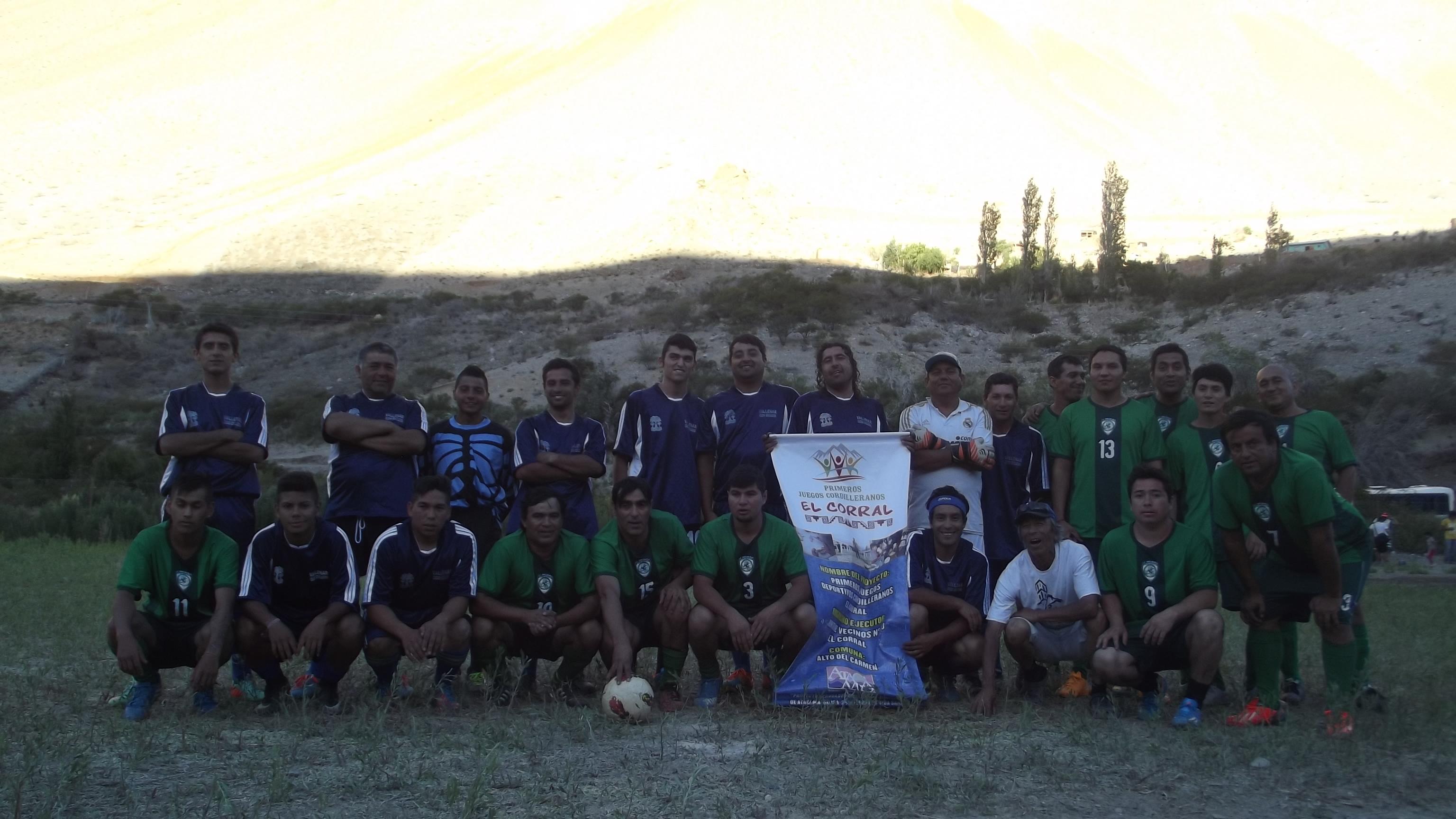 Todo un éxito los primeros juegos cordilleranos en Alto del Carmen