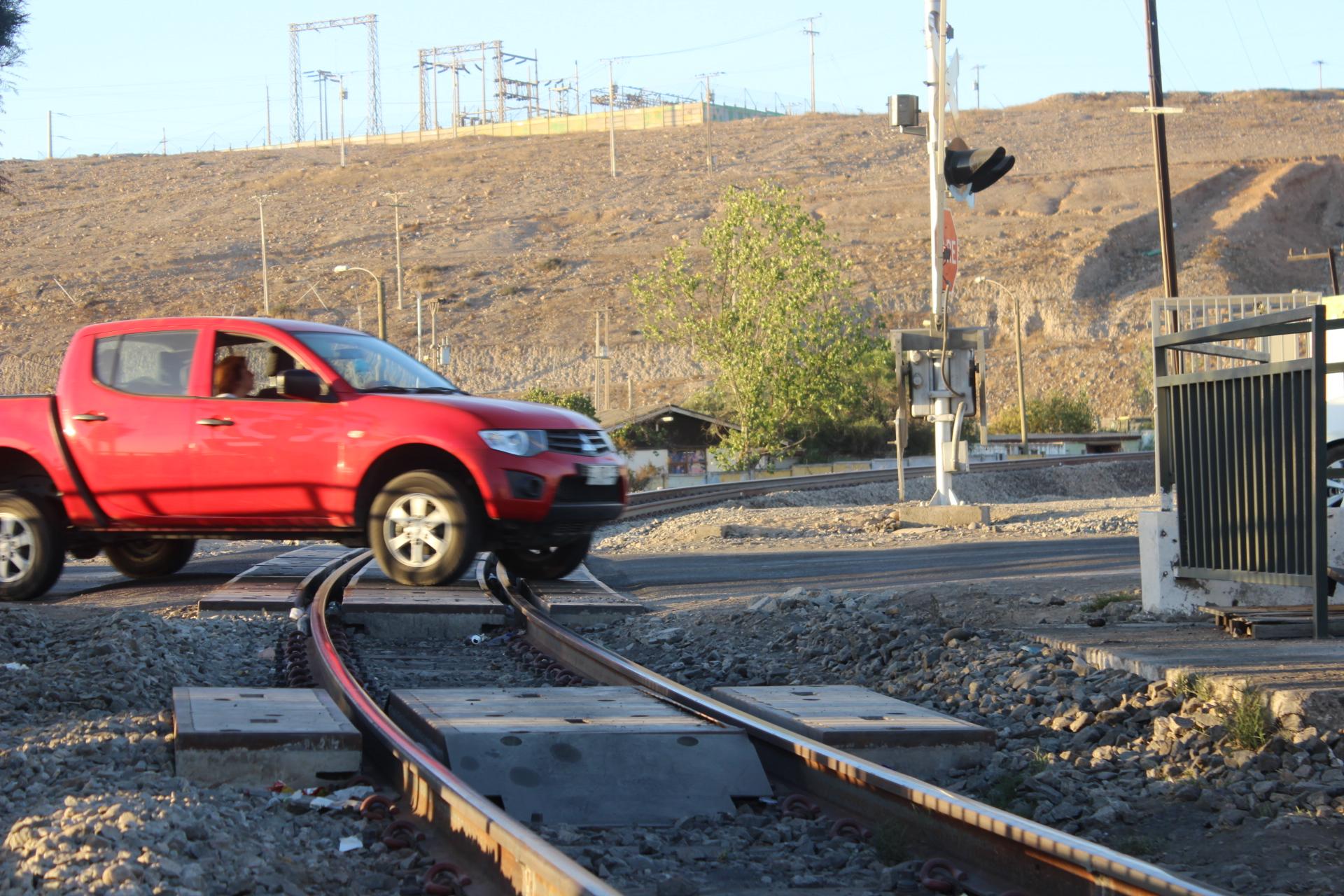 Hombre fue altropellado por tren a la salida norte de Vallenar