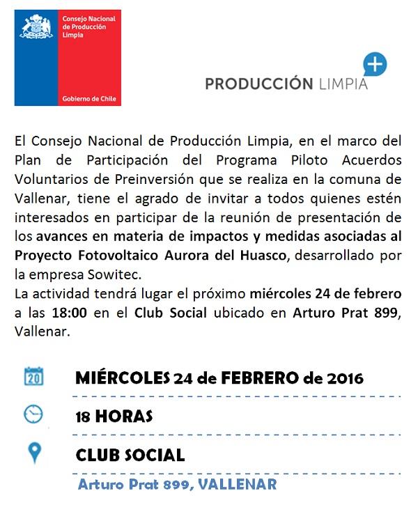 invitacion produccion limpia - page