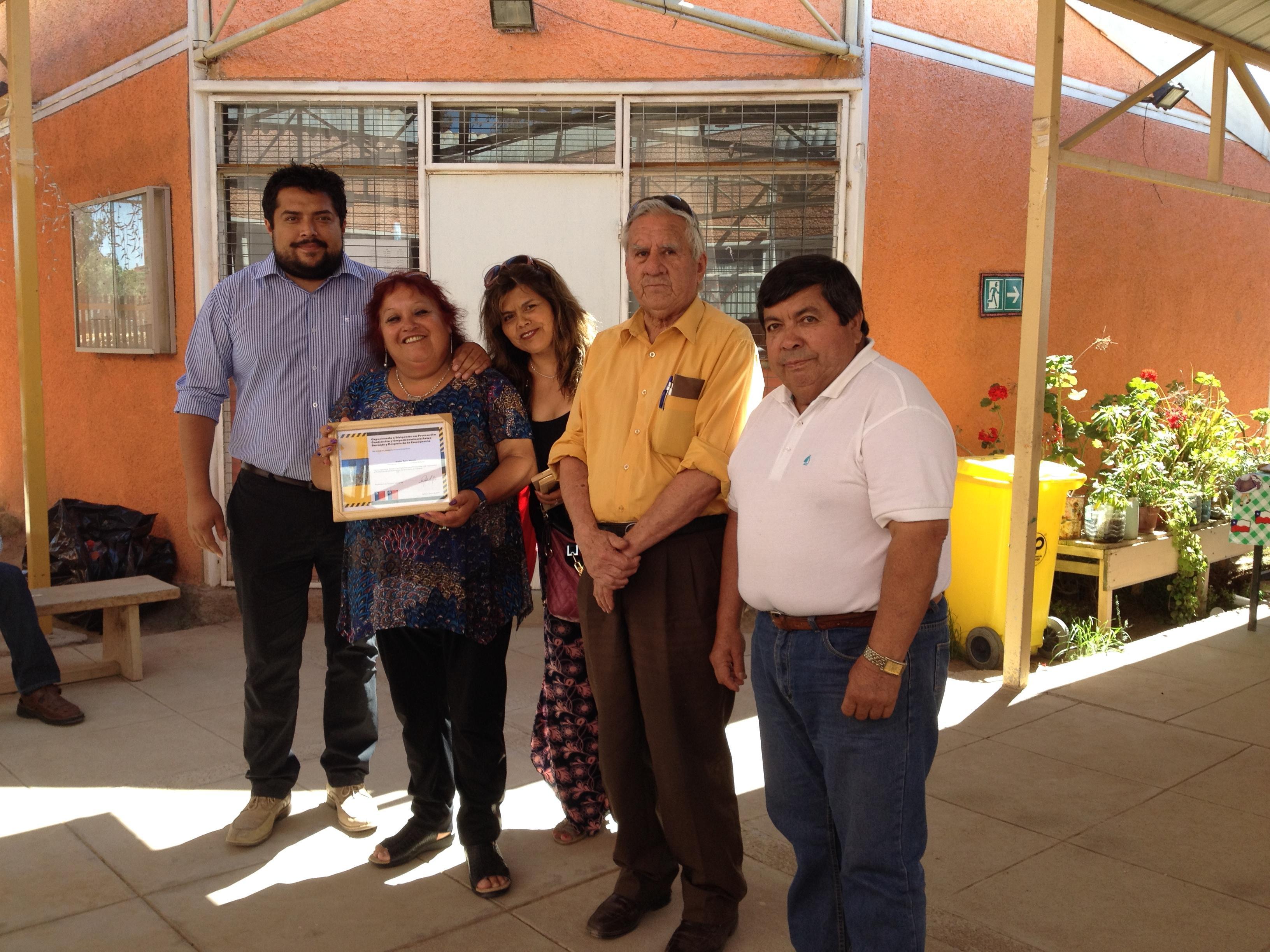 Unión Comunal Urbana de Vallenar fue beneficiada con los fondos de fortalecimiento del Gobierno