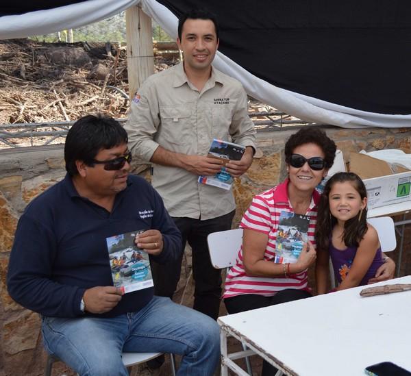 En Alto del Carmen el Sernatur entregó recomendaciones a turistas
