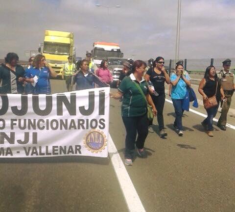ANEF le pidió a Aleuy que visite Atacama por movilizaciones de funcionarios públicos