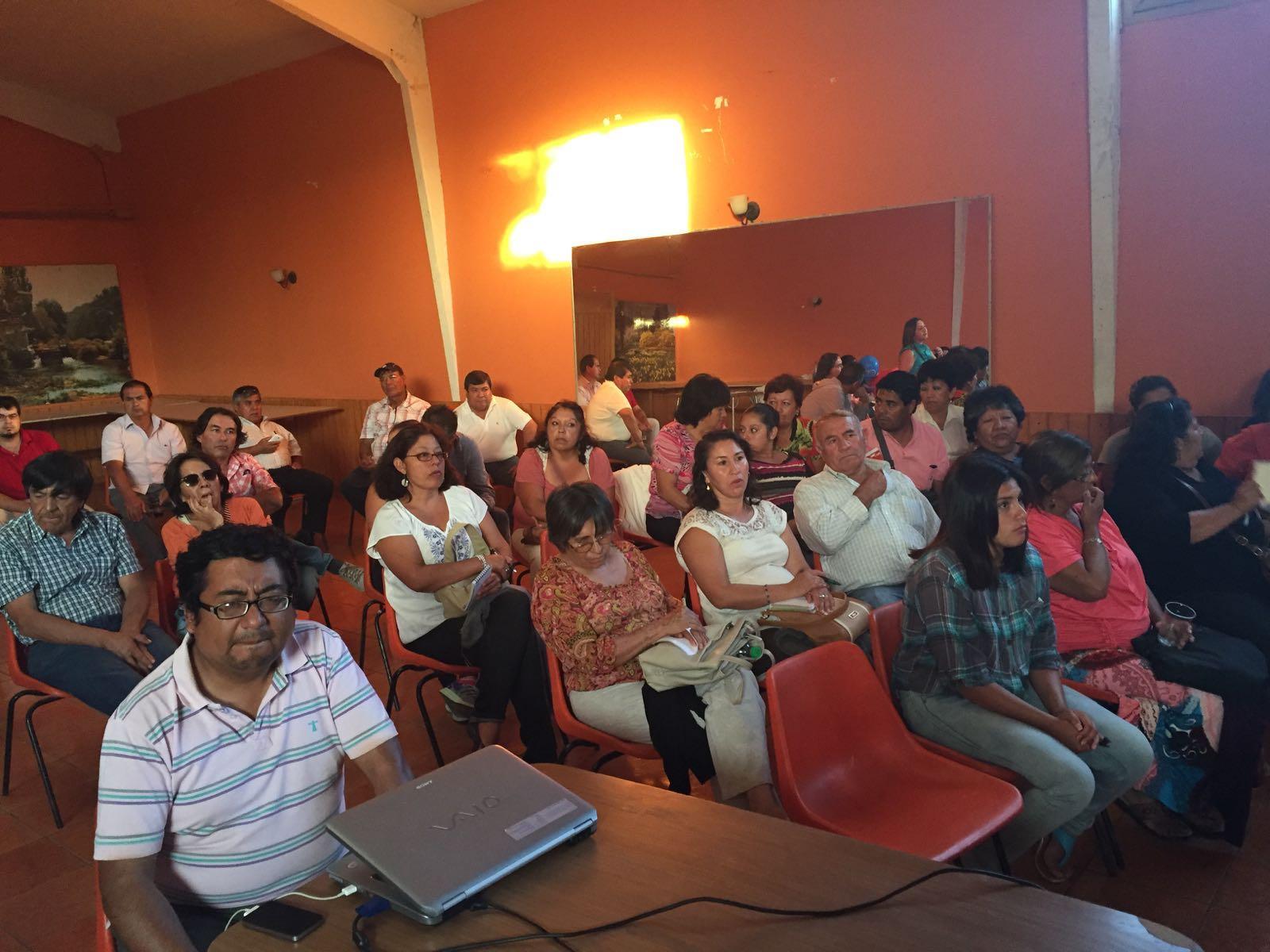 Pequeños empresarios del Huasco se reúnen con autoridades regionales