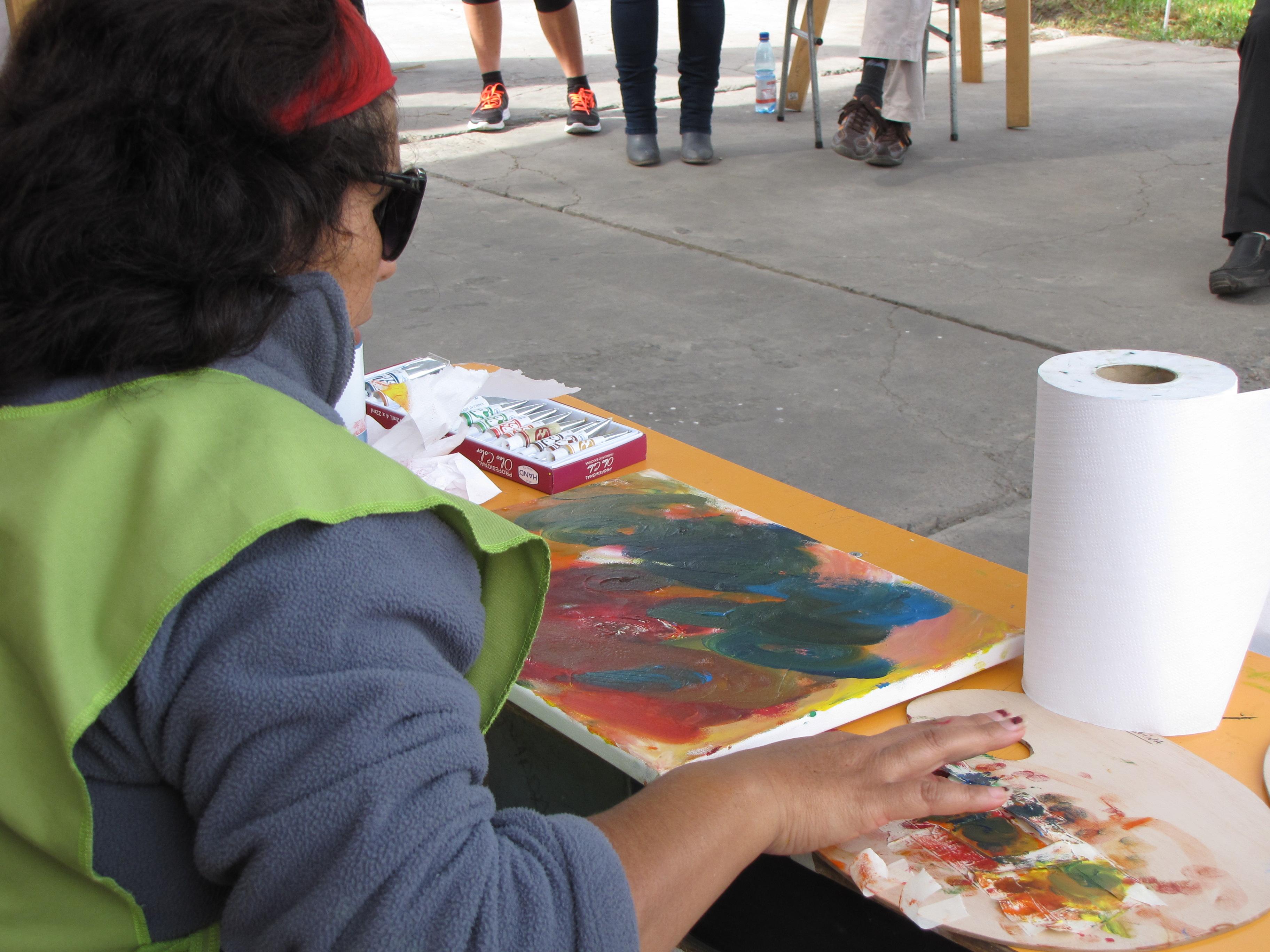Beneficiarios de Mi Pequeño Hermano realizaron muestra de pintura