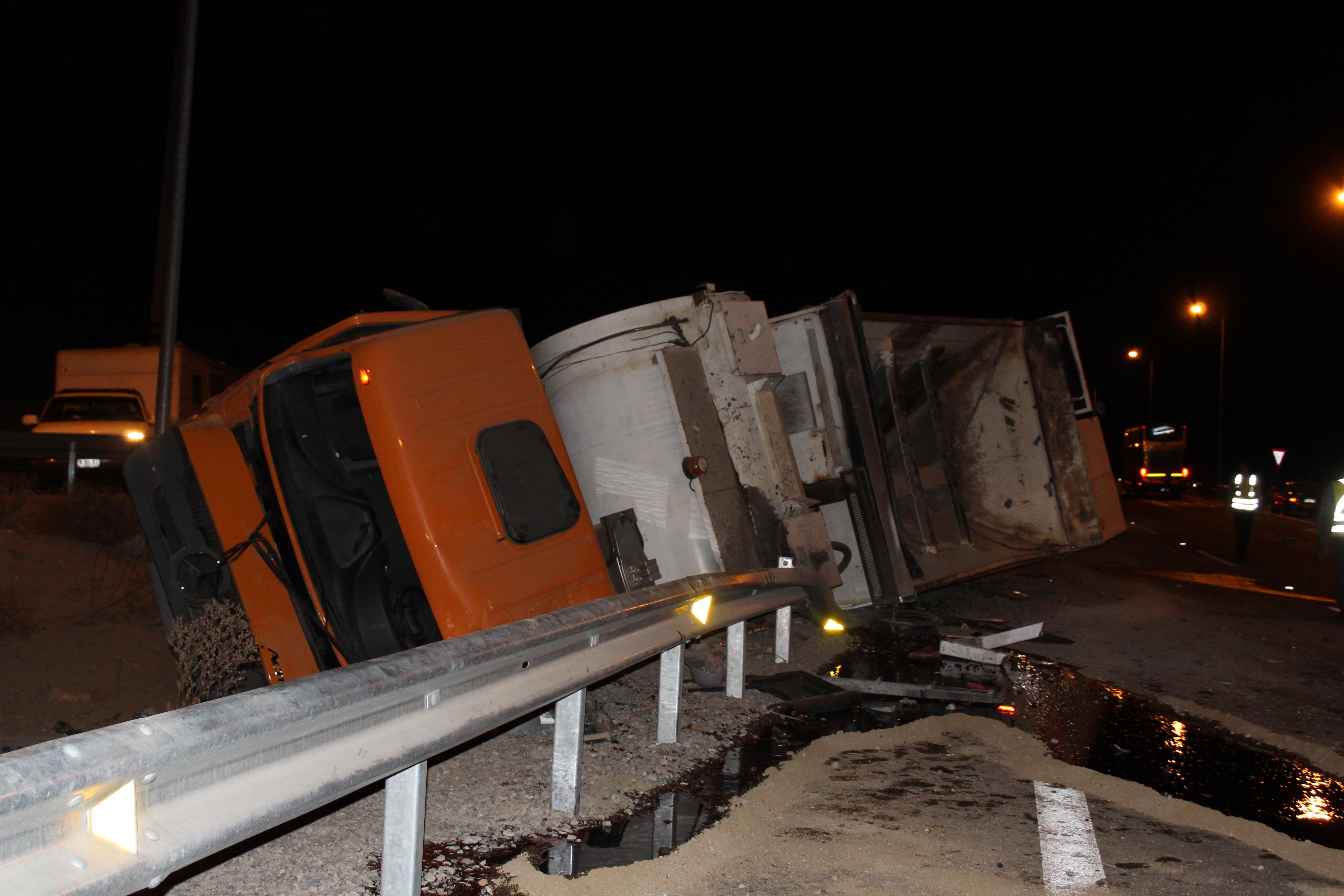 Un fallecido deja accidente de camión al sur de Vallenar