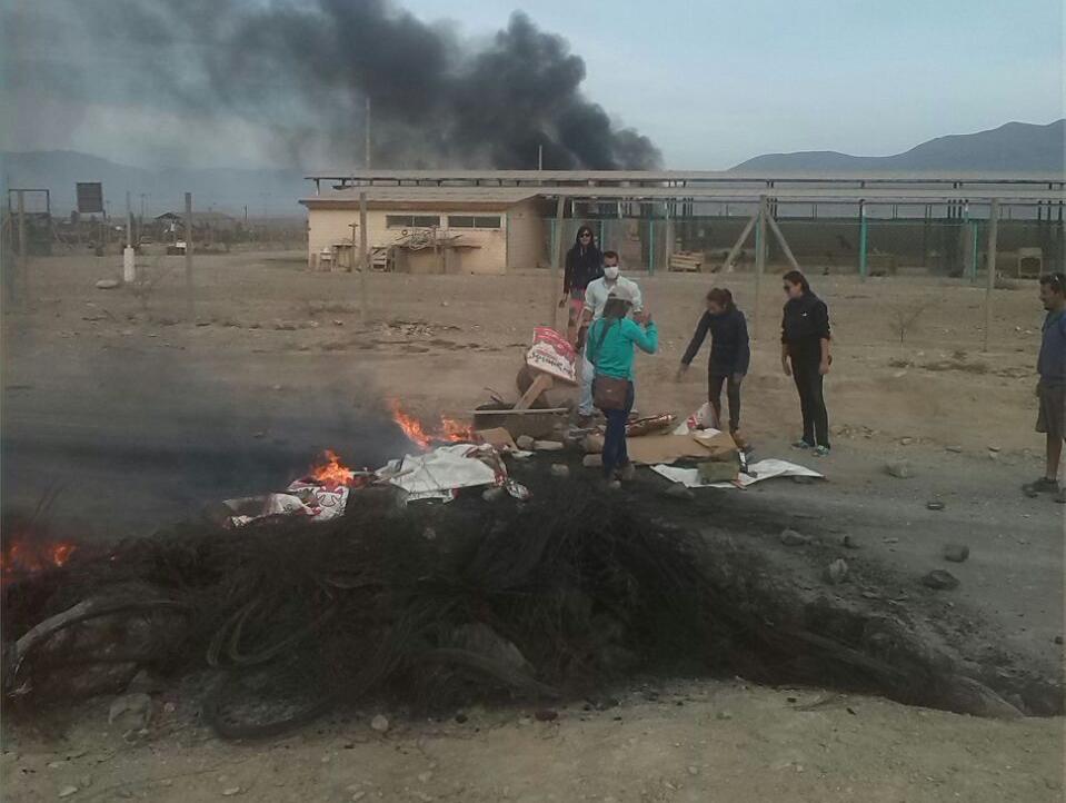 """Presidente CUT regional: """"... Que el Gobierno se prepare porque este movimiento tiene fuerza, está vivo, y si hay que quemar Atacama quemaremos Atacama"""""""