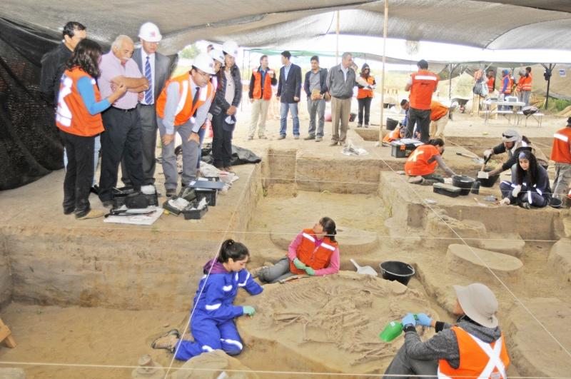 Hallazgo arqueológico no retrasará puesta en marcha de doble vía La Serena- Vallenar