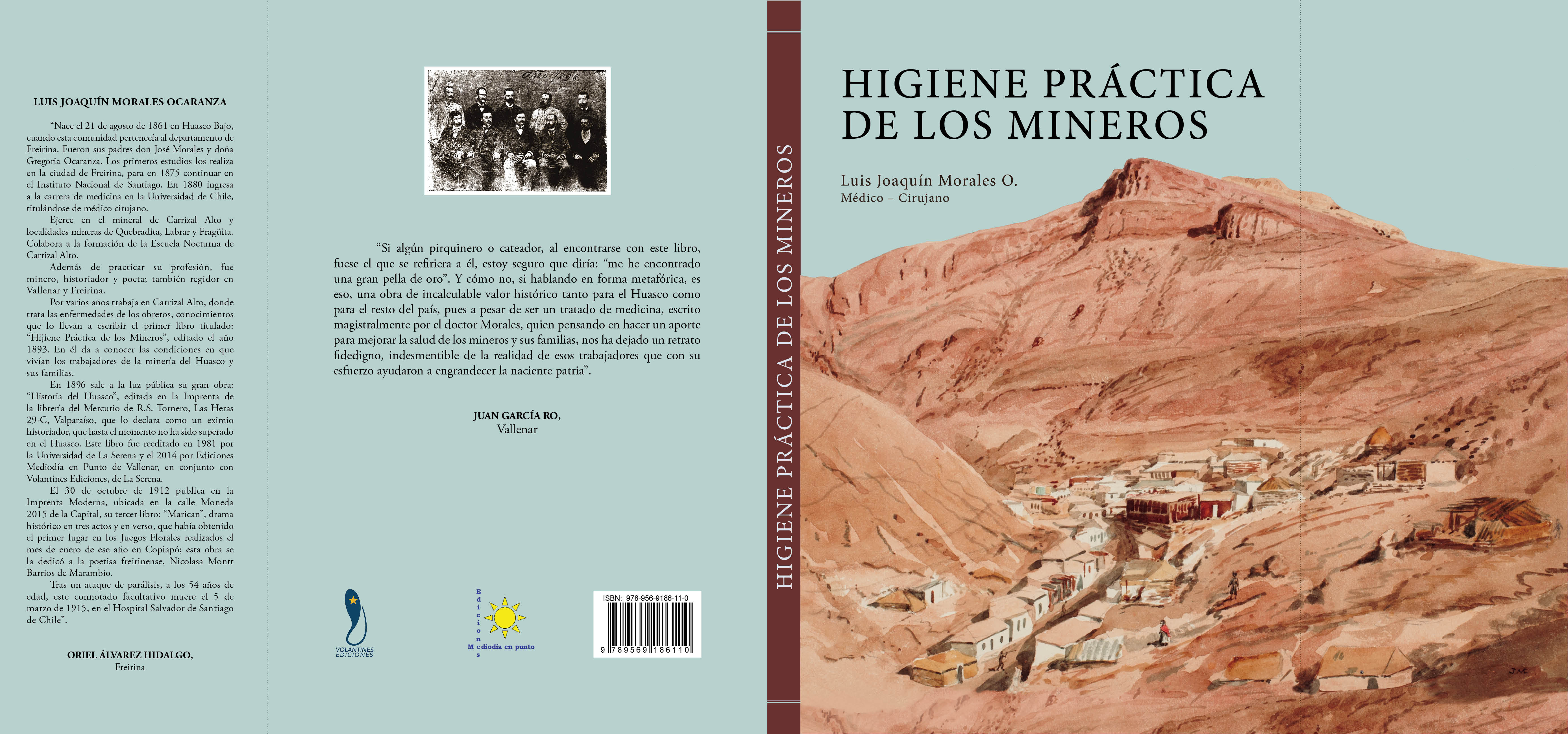 Este jueves presentan histórico libro en Vallenar