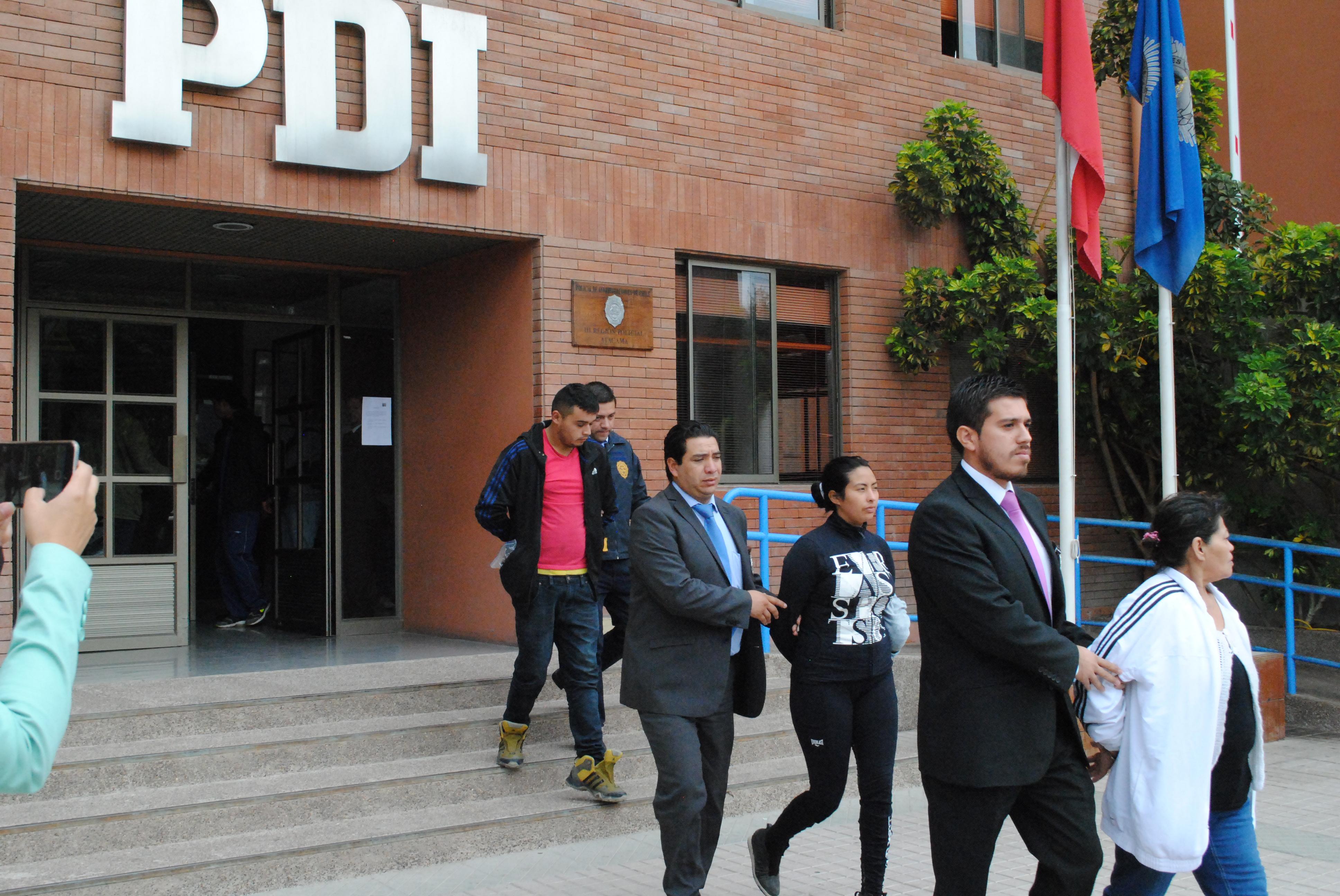 Persecución policial termina con 9 detenidos en Vallenar