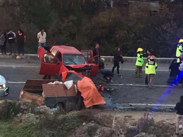 Dos fallecidos deja accidente ocurrido en ruta C-46 en Maitencillo