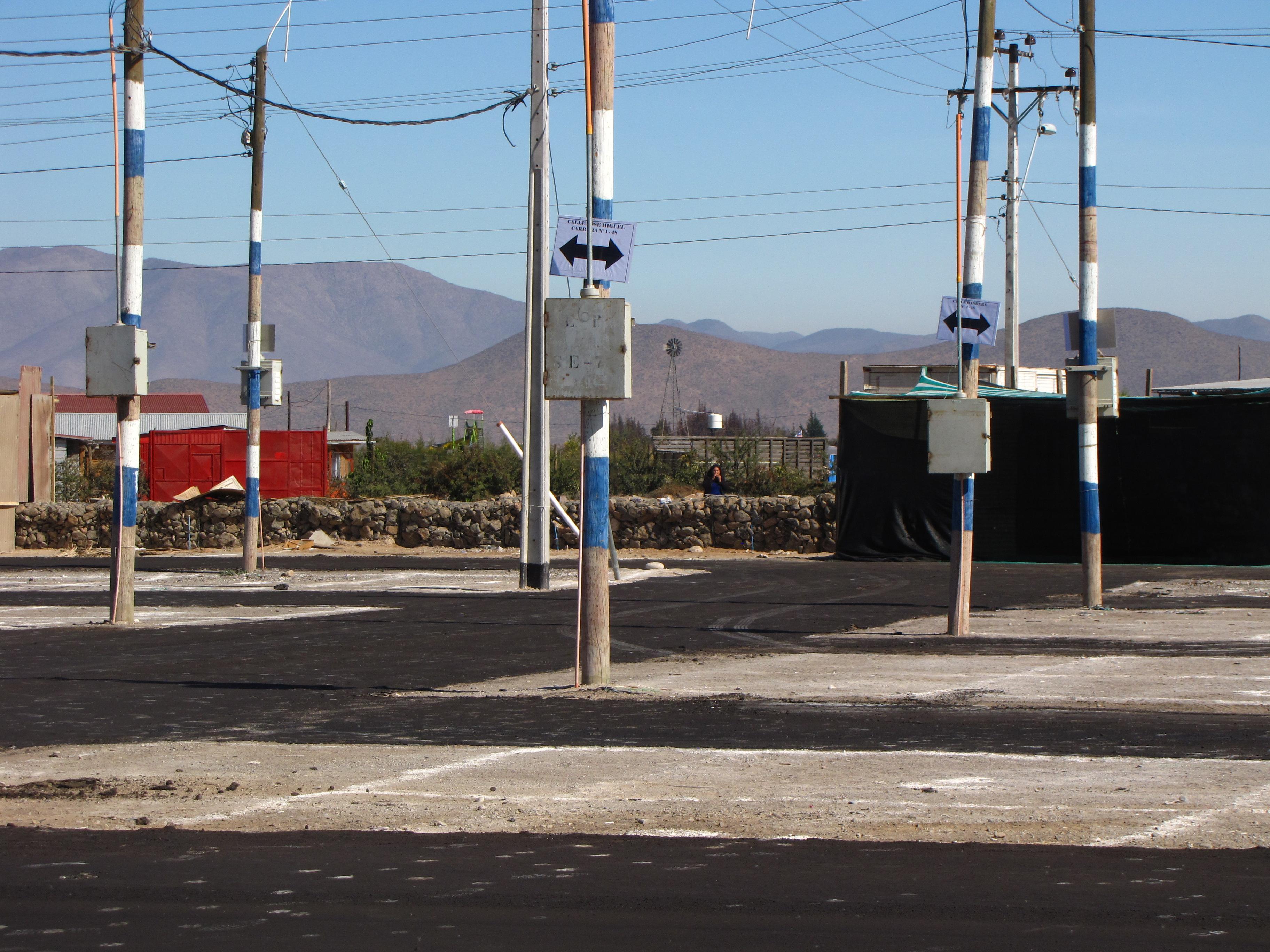Realizan mejoras a sector de Cuatro Palomas por feria de la Cruz de Mayo