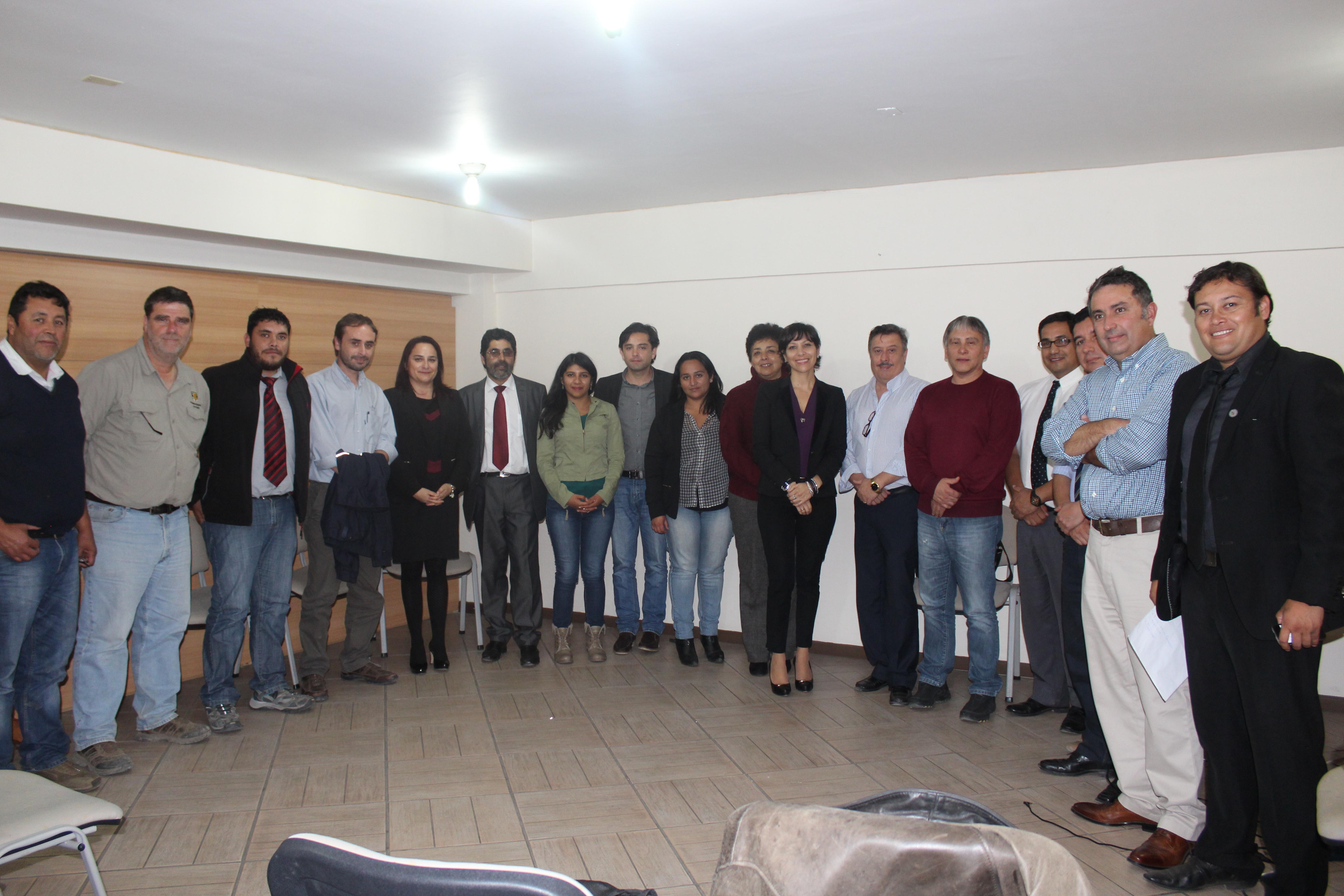 Realizan seminarios de liceos técnicos profesionales de Vallenar y Copiapó