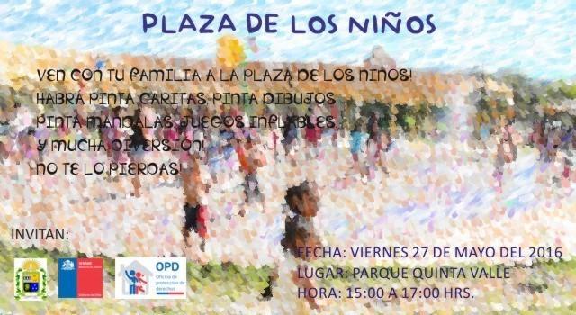 OPD Vallenar realizará Feria de los Niños en Quinta Valle