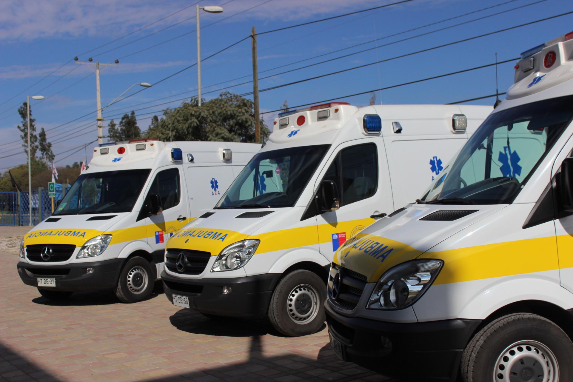 Atacama contará con nuevas ambulancias para combatir el Covid-19