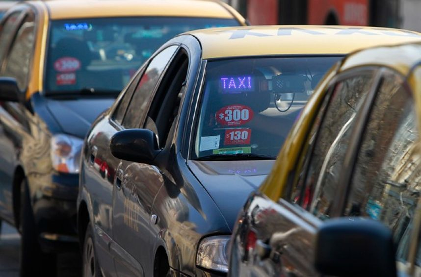 Movilización de taxis de este jueves en Vallenar será entre las 08:00 y 13:00 horas