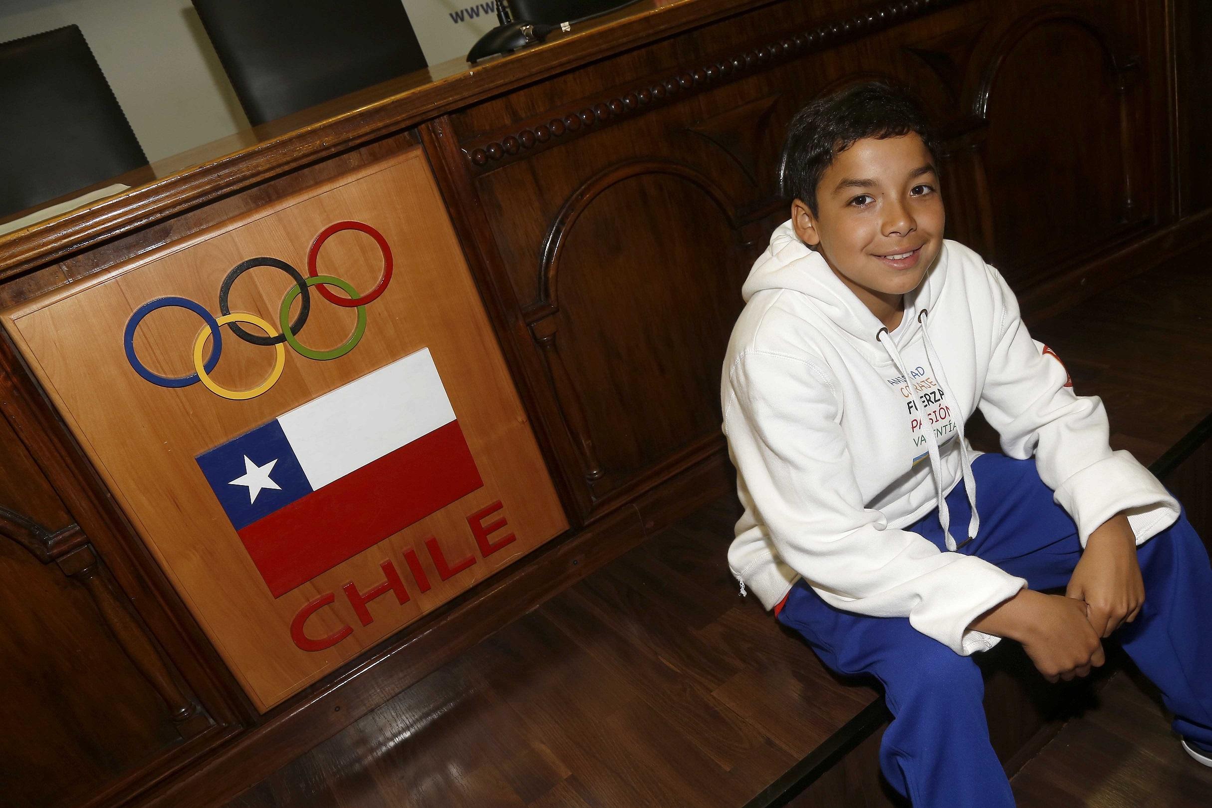 Niño de Huasco viajará como embajador de Chile a las Olimpiadas de Río de Janeiro