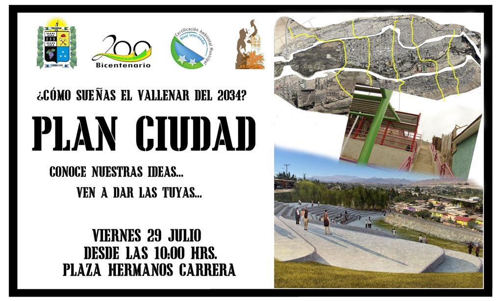 Invitan a participar del Plan Ciudad 2034