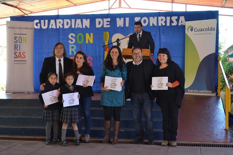Exitoso cierre del programa Sonrisas promovido por Fundación AES Gener y Guacolda