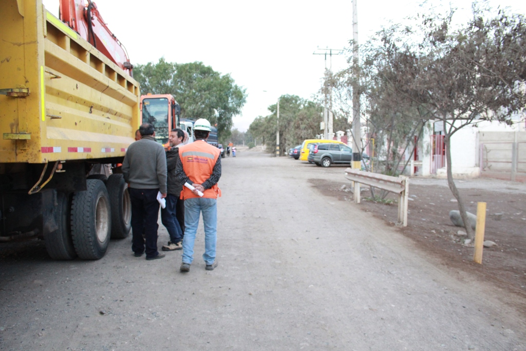 Pavimentarán 1,1 kilómetros del sector sur del Paseo Ribereño
