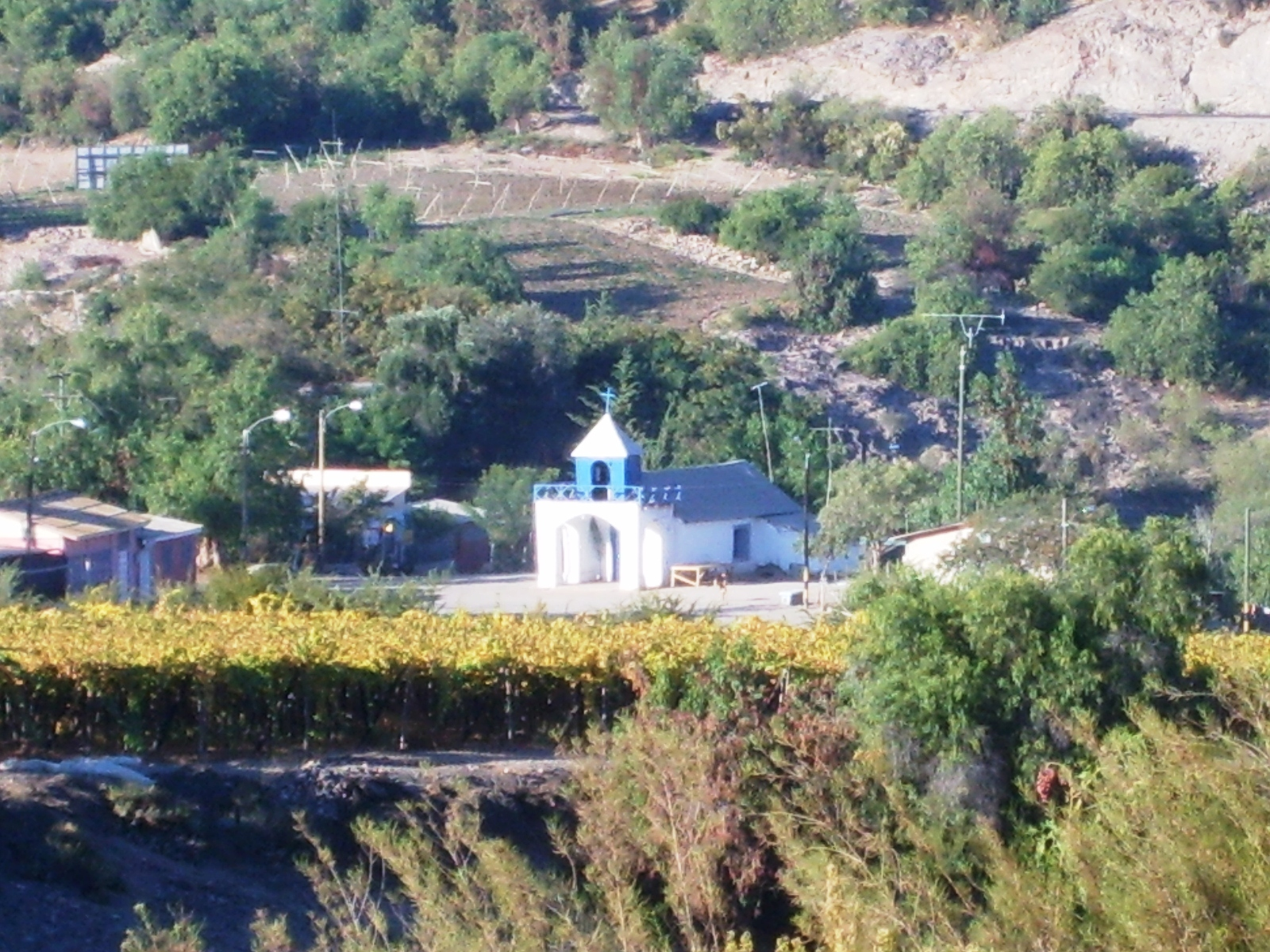 Fiesta religiosa de  Chañar Blanco celebra a la Virgen del Carmen