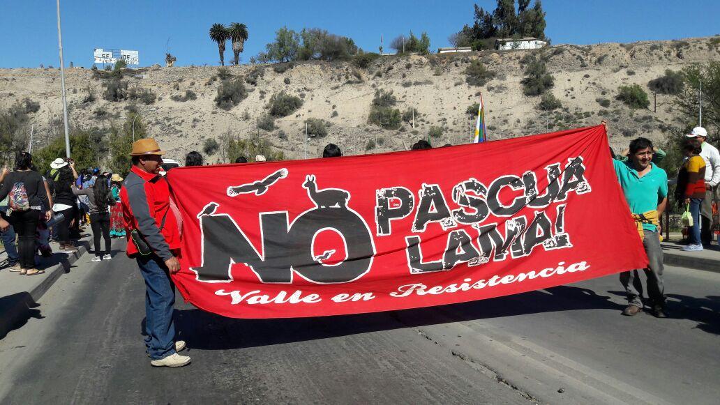 Realizan 13° marcha por el agua y la vida en Vallenar