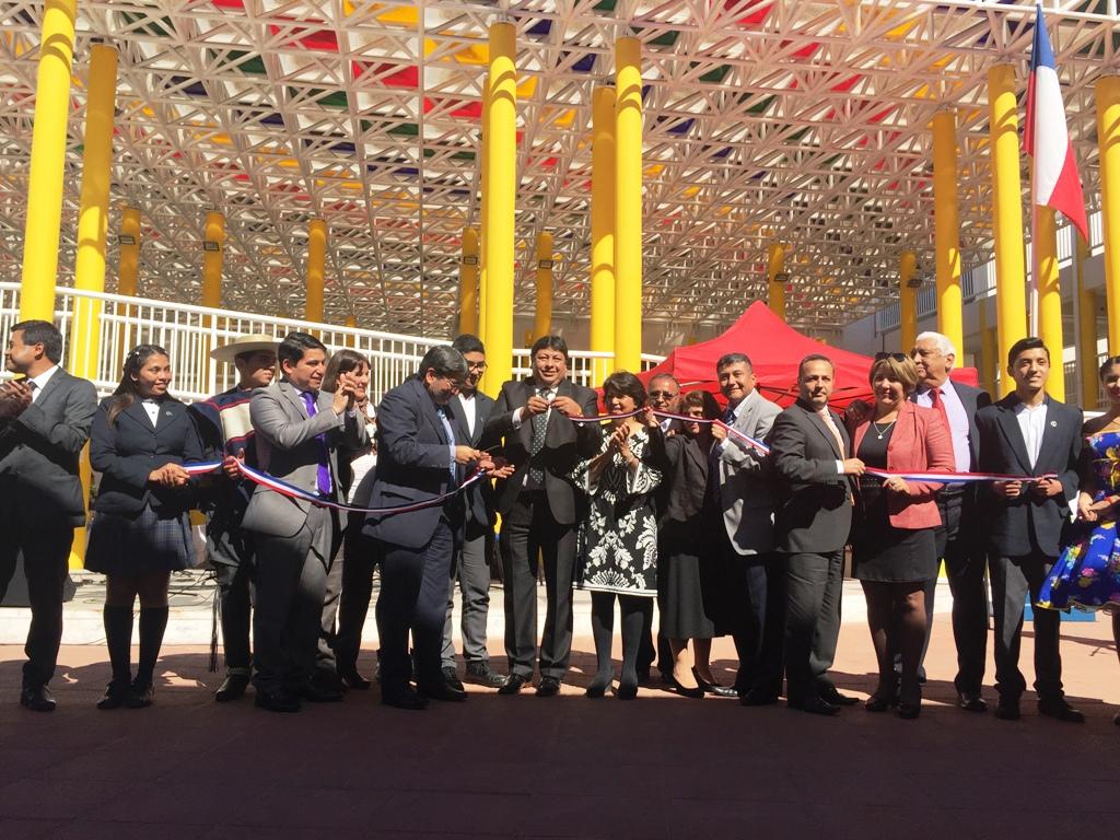 Inauguran Liceo Bicentenario en Vallenar