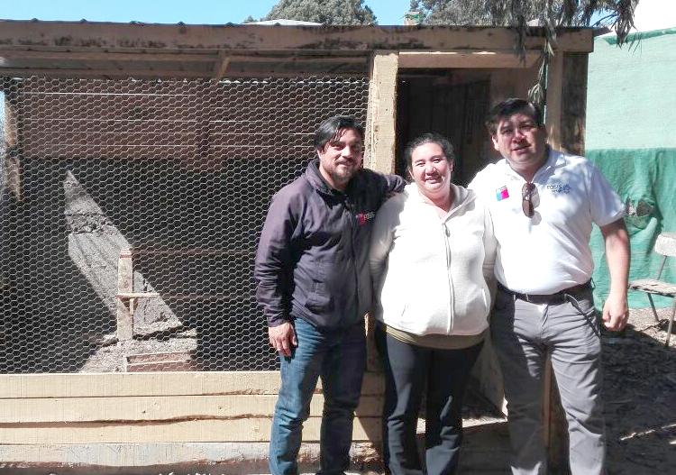 FOSIS supervisa el desarrollo de talleres del Programa Autoconsumo en Huasco