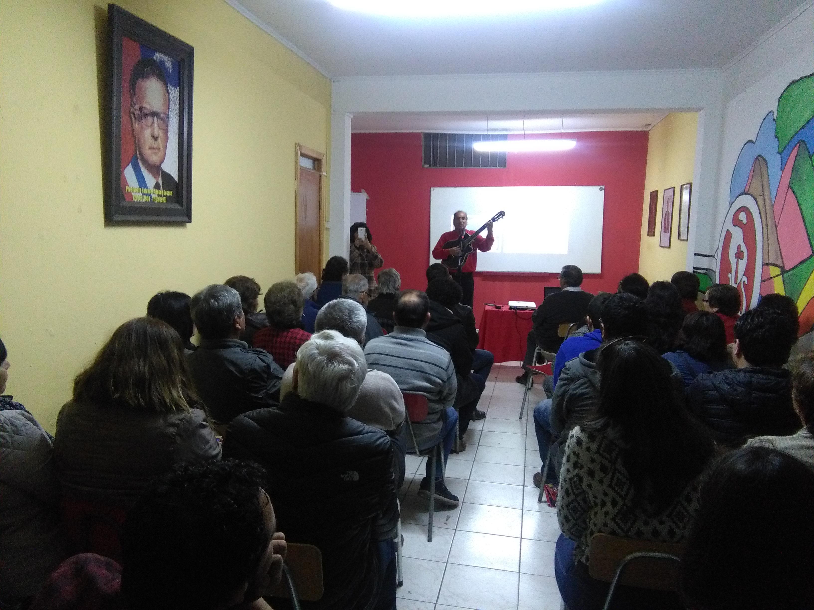 """""""Café de la memoria"""" rinde homenaje a los caídos del 11 de septiembre de 1973 en Atacama"""