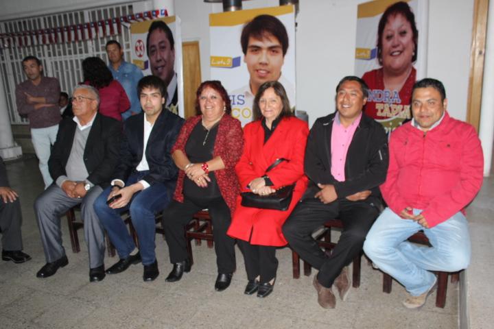 FREP da a conocer a sus candidatos a concejales en Vallenar