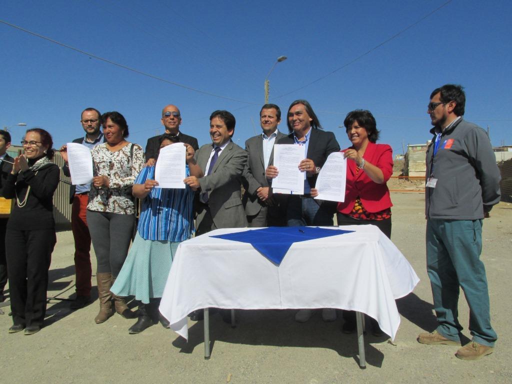 Traspasan 223 millones de pesos a municipio para pavimentación de campamento Villa San Pedro de Huasco
